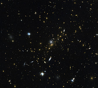 Magnifying the distant Universe