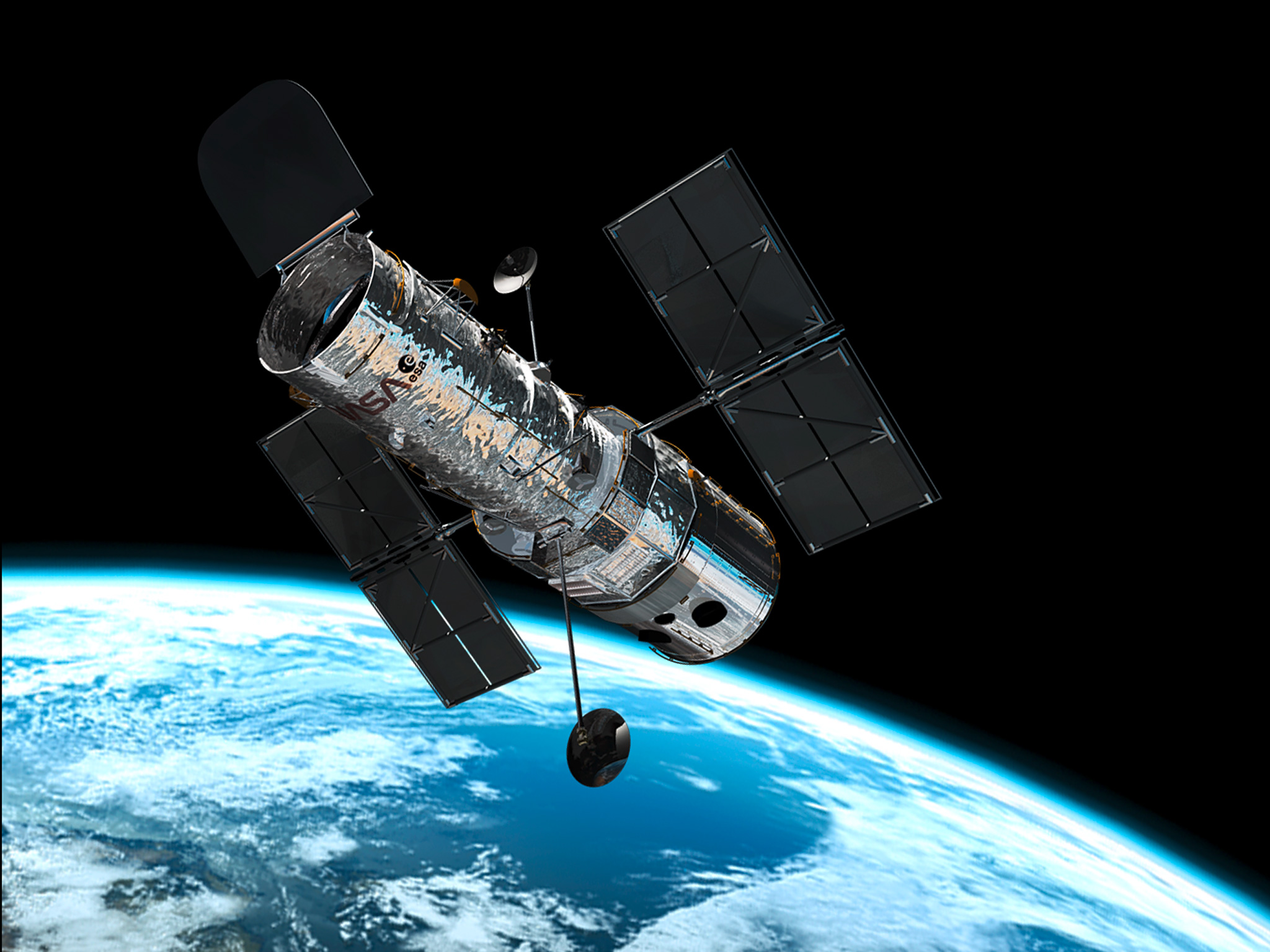 Hubble Telescope Images of Space The Hubble Space Telescope is