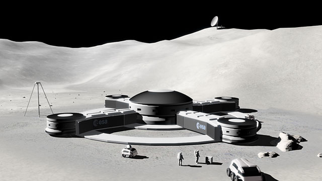 Lunar Base  (artist's impression)
