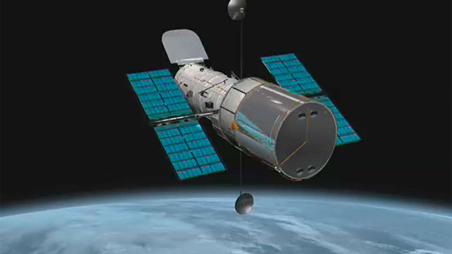 The NASA/ESA Hubble Space Telescope, slow fly-around