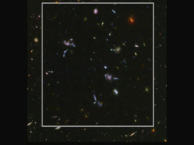 Examining different pieces of the Hubble Ultra Deep Field