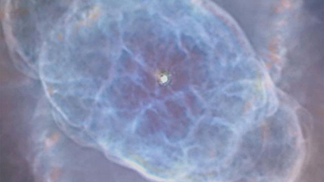 The expansion of the Cat's Eye Nebula (medium zoom)