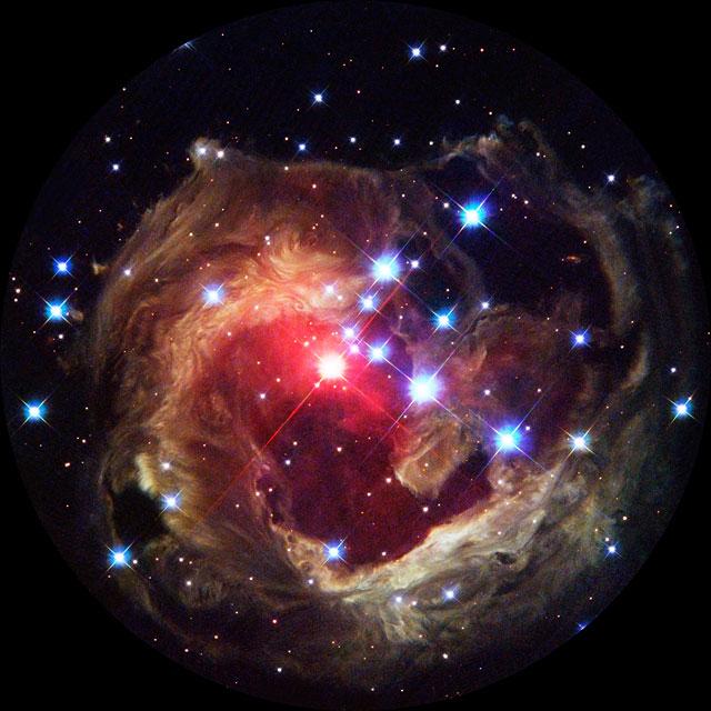 Fulldome of variable star V838 Monocerotis
