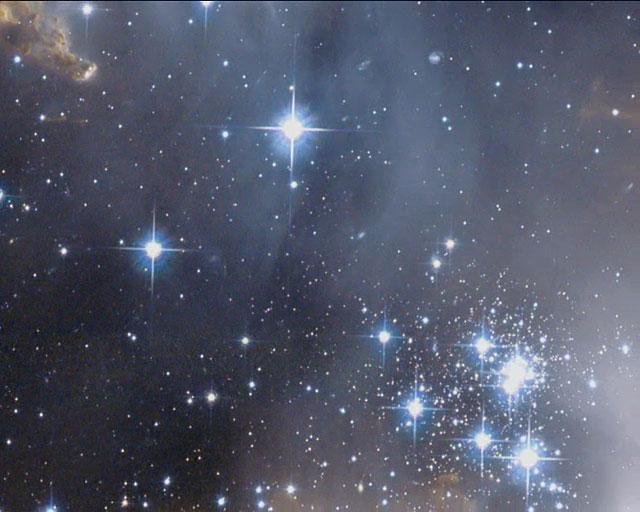 Panning on NGC 602