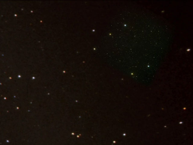 """Hubble sees """"Comet Galaxy"""" being ripped apart by galaxy cluster"""