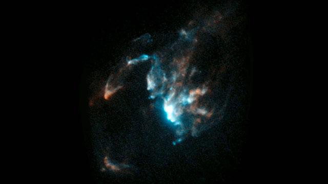 Stellar jet HH 1