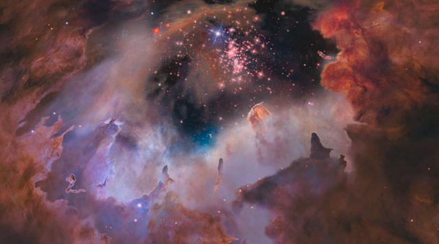 Flight through star cluster Westerlund 2 — fast