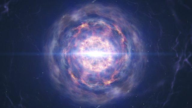 Neutron Star Merger Animation Ending With Kilonova