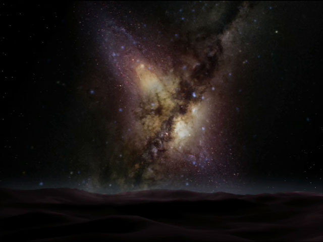 Milky Way Collision with the Andromeda Galaxy