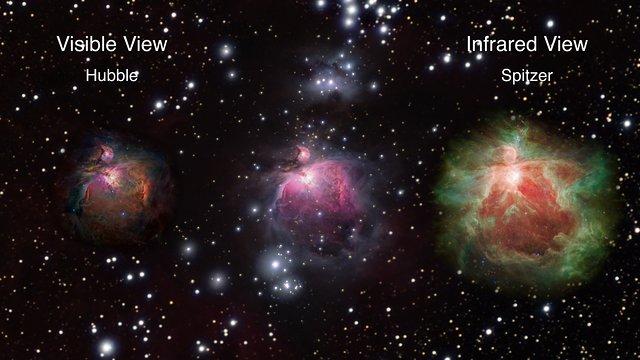 3D journey through the Orion Nebula