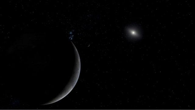 Artist's concept of dwarf planet Eris