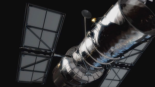 Hubble Space Telescope (artist's impression)
