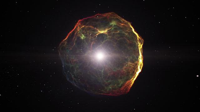 Supernova explosion (artist's impression)