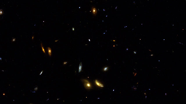 "Part of the IMAX 3D video ""Hubble: Galaxies Across Space and Time"""