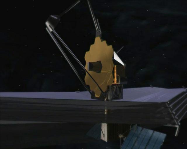 Unfolding of the James Webb Space Telescope