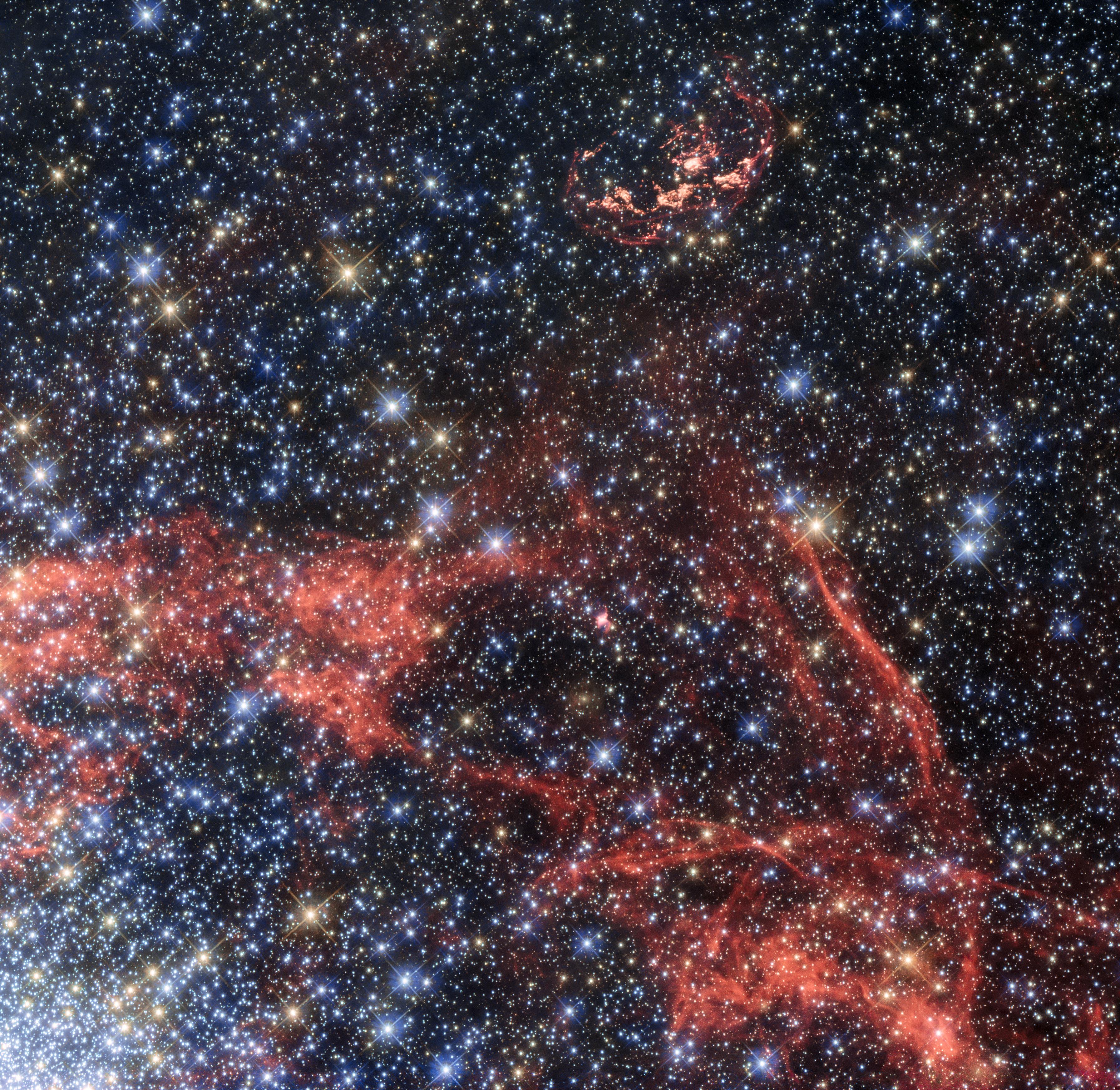 Supernova remnant N103B | ESA/Hubble