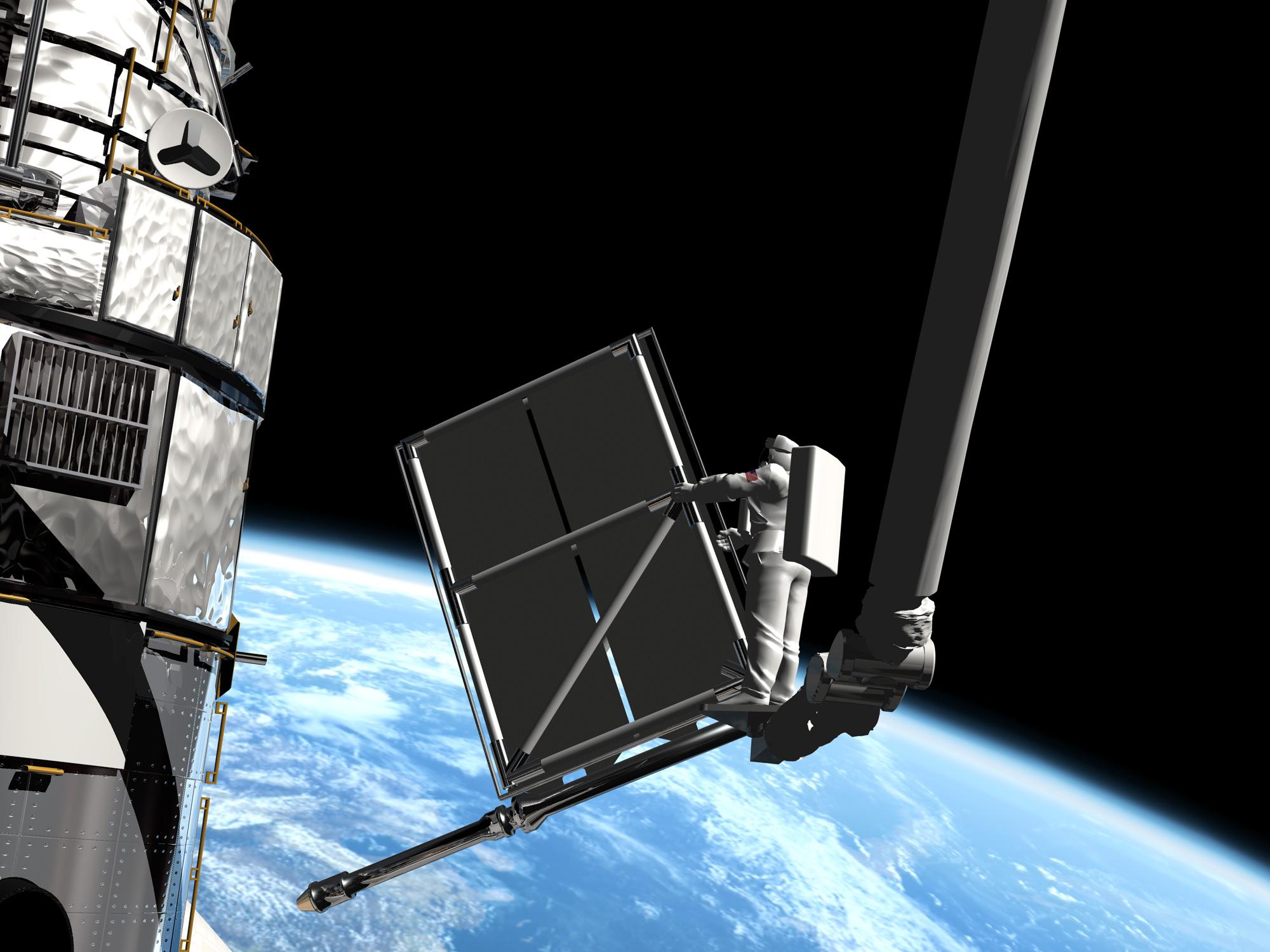 ranger spacecraft solar panels - photo #10