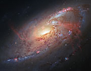 Hubble view of M 106