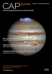 Cover picture of CAP Journal issue 21