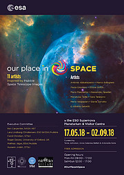 Our Place in Space poster for Garching