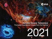 Hubble Space Telescope Calendar 2021 cover