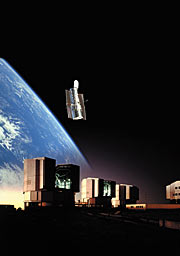 VLT and Hubble