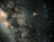 Constellation Scorpius (ground-based image)