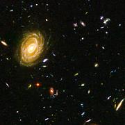 Hubble reveals galactic drama [image 3]