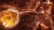 Hubble peers inside a celestial geode