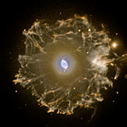 The Cat's Eye Nebula imaged with the Nordic Optical Telescope