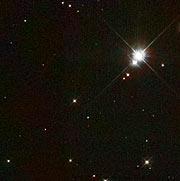 Location of candidate progenitor companion to Tycho's supernova [WFPC2]