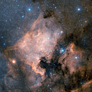 The North America Nebula (ground-based image)