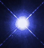 The Dog Star, Sirius A, and its tiny companion