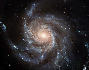Largest ever galaxy portrait - stunning HD image of Pinwheel Galaxy