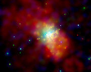 Chandra image of Messier 82