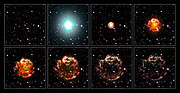 Cassiopeia A - Animation sequence [artist's impression]