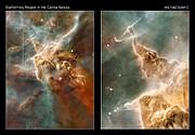 Star-forming regions in the Carina Nebula