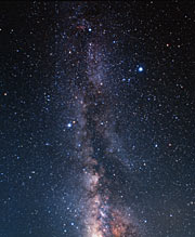 Milky-Way towards the constellation of Cygnus (ground-based image)