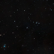 Wide-field view of the Virgo cluster of galaxies (ground-based image)