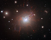 Magnetic monster NGC 1275