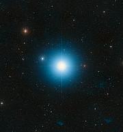 DSS image of Fomalhaut (ground-based image)