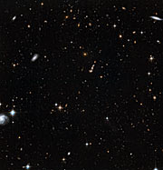 Stars in the Andromeda Galaxy's halo with background galaxies (2)