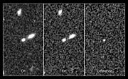 Record-breaking supernova in the CANDELS Ultra Deep Survey: before, after, and difference