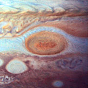 Jupiter's Great Red Spot in 1995