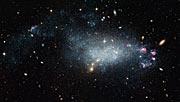 Dwarf galaxy DDO 68