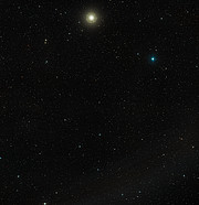 Wide-field view of Arp 256 (ground-based image)