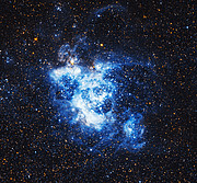 NGC 604 — a gigantic gas cloud in the Triangulum Galaxy