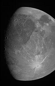 NASA's Juno Spacecraft Observation of Ganymede in June 2021