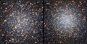Hubble's Views of M13 (2010) and M3 (2019)