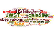 Hubble wordle